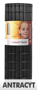 Pantanet Family 50x100x1220x2,5 mm / 25m Antracyt