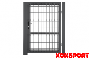 Furtka Konsport Panel 3D H 200 cm  RAL