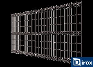 panel ogrodzeniowy h 150cm 4mm ral 8017