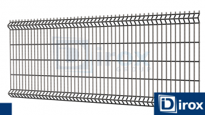 Panel Ogrodzeniowy H 103cm 4mm RAL 7016 Ultra
